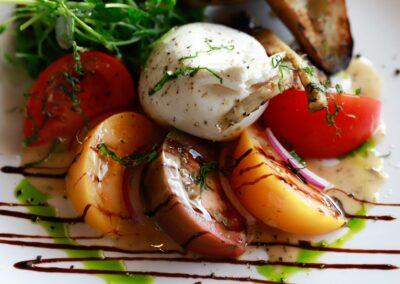 Burrata + Tomatoes